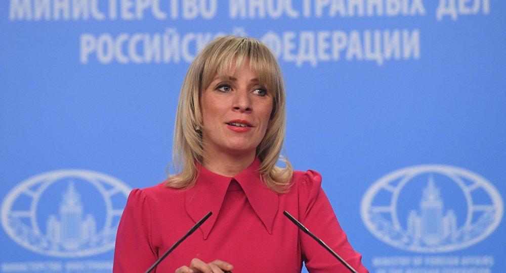 俄羅斯外交部新聞司司長馬麗亞·扎哈羅娃