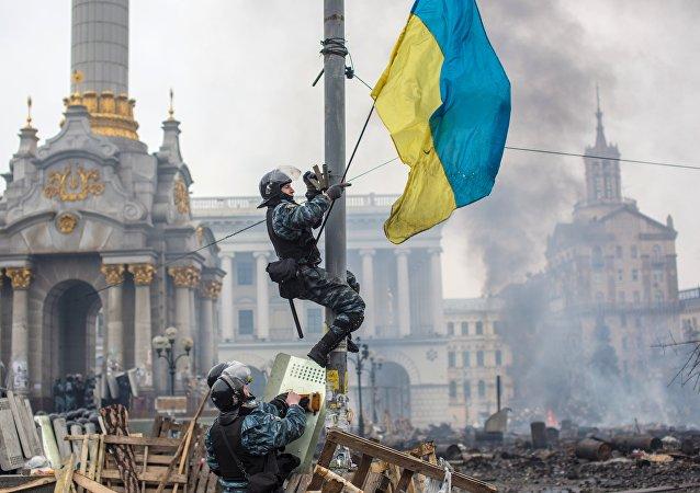"""亚努科维奇称乌克兰发生的事是""""被合法化的恐怖主义"""""""