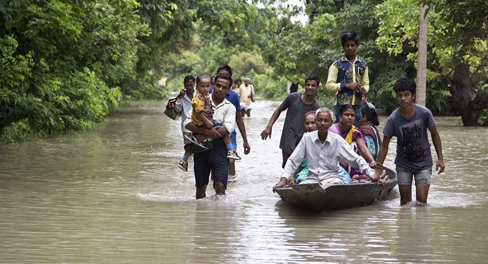 尼泊尔洪水
