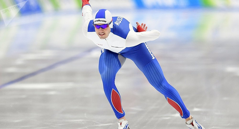 俄羅斯滑冰運動員謝爾蓋·格里亞佐夫