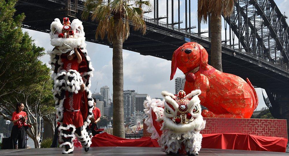 新西兰华人过春节