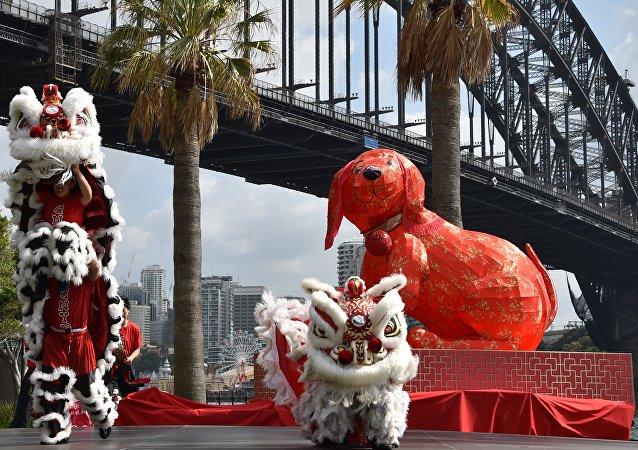 新西蘭華人過春節