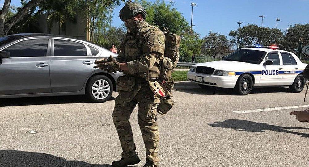 佛羅里達南部一所學校發生槍擊事件