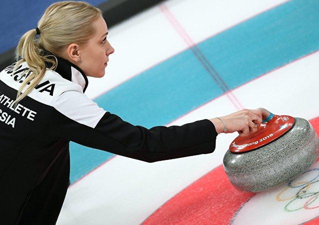 冬奧女子冰壺俄羅斯隊成員