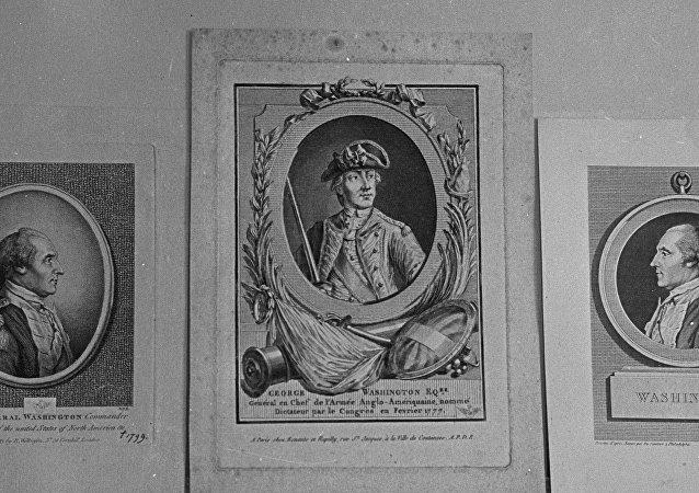 紐約古籍中發現喬治·華盛頓的一縷頭髮