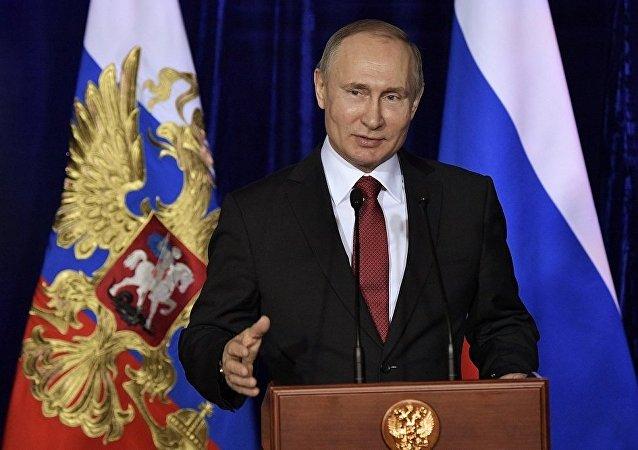 消息人士:普京或于3月1日向联邦会议发表国情咨文