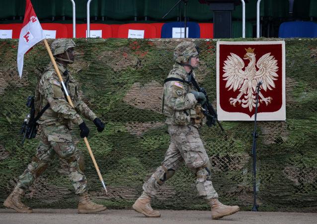 美國軍人在波蘭(資料圖片)