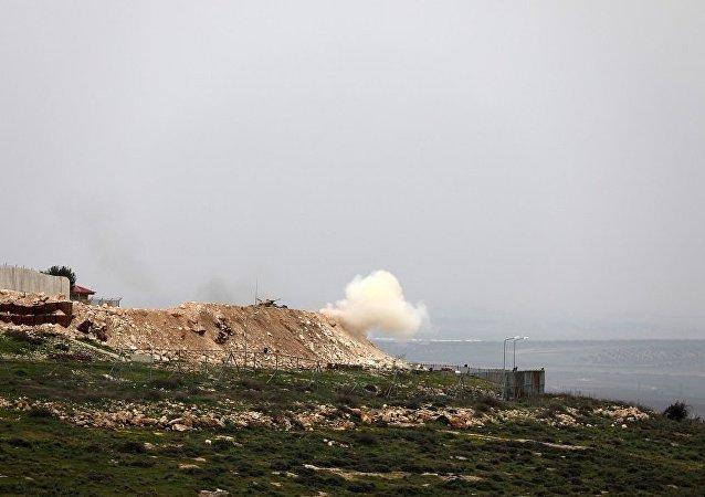土耳其總參謀部:過去24小時內土軍在敘阿夫林軍事行動中消滅44名武裝分子