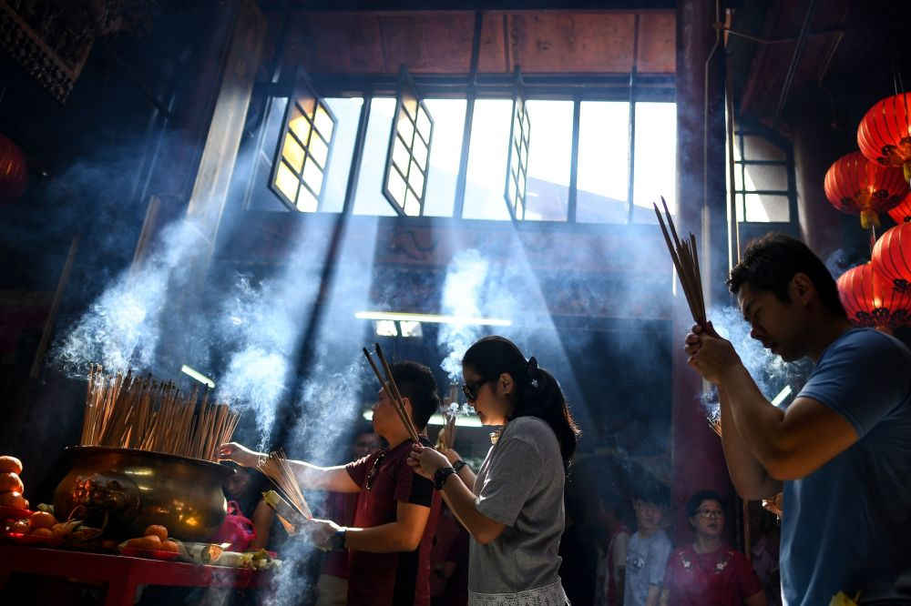 吉隆坡農歷新年祈禱
