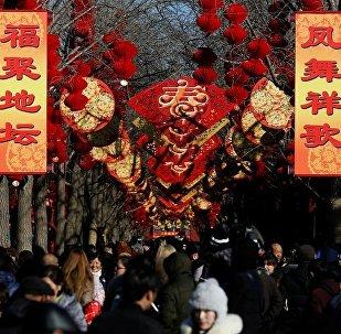 春節來到中國