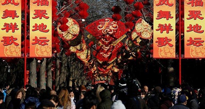 春节来到中国