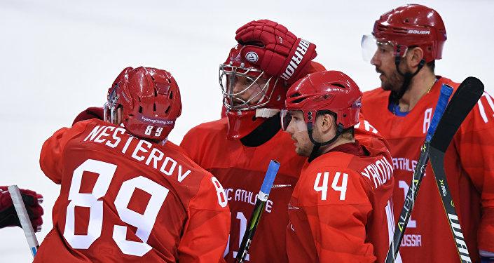俄冰球隊20年來首次打入冬奧會決賽