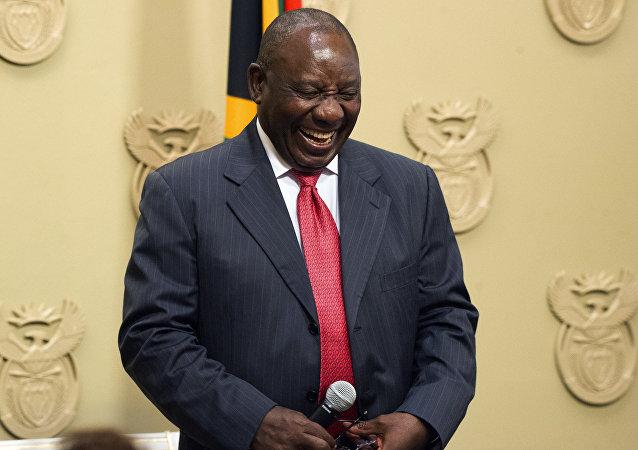 南非總統拉馬福薩