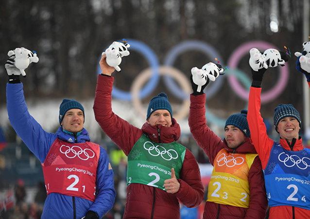 俄滑雪运动员在接力赛上再夺一枚银牌,俄罗斯已获10枚奖牌