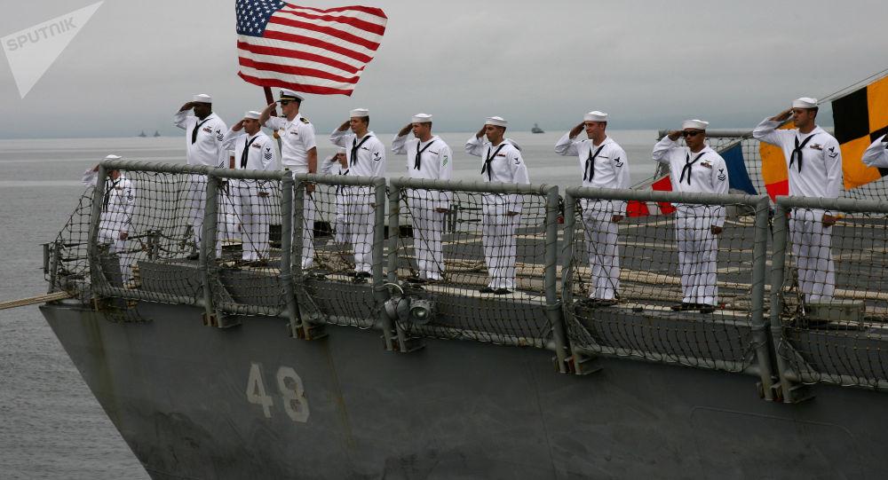 美國水兵請求允許他們留鬍子