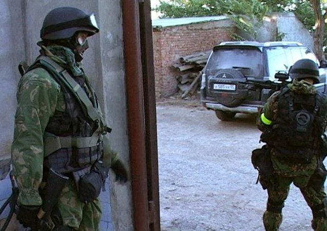 俄达吉斯坦特别警方