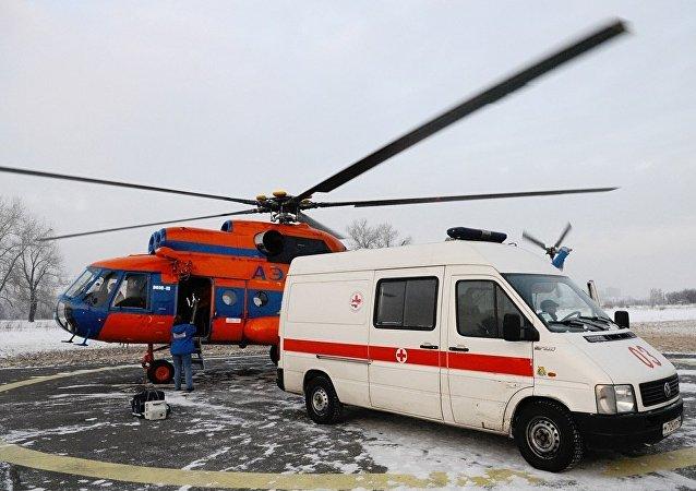 俄达吉斯坦东正教堂枪击案重伤者将被送往首都治疗