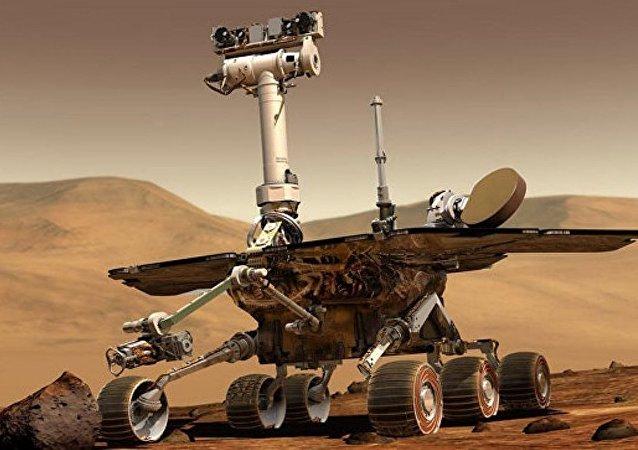 """""""机遇号""""探测器成功登陆火星后度过五千个火星日"""