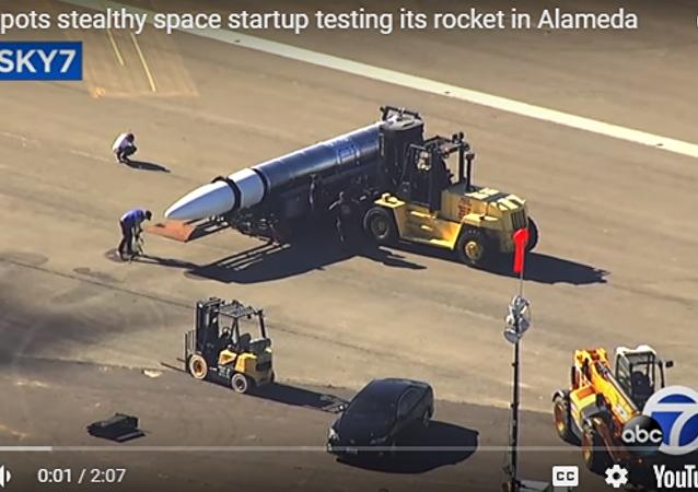 美國秘密火箭網上曝光