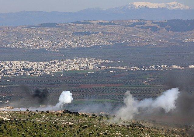 敘利亞親政府武裝進入阿夫林地區