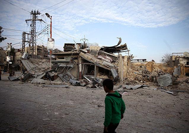 在東古塔區的恐怖組織「勝利陣線」是目前形勢下的主要問題
