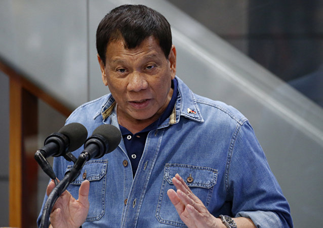 """菲律宾总统称愿派军助约旦打击""""伊斯兰国"""""""