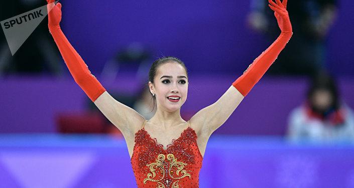 俄花滑選手扎吉托娃獲女單冠軍 為俄羅斯摘下平昌冬奧首枚金牌