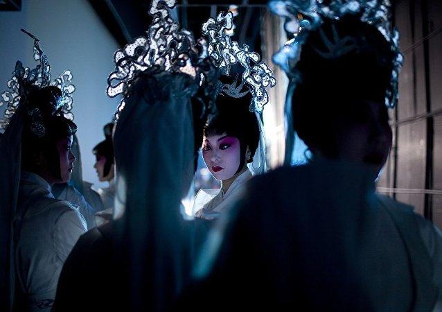 俄符拉迪沃斯托克将举办中国京剧主题画展