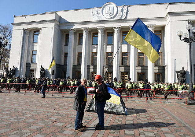 在烏克蘭有人以所謂的「蘇聯遺產」緣由提議重新命名國家議會