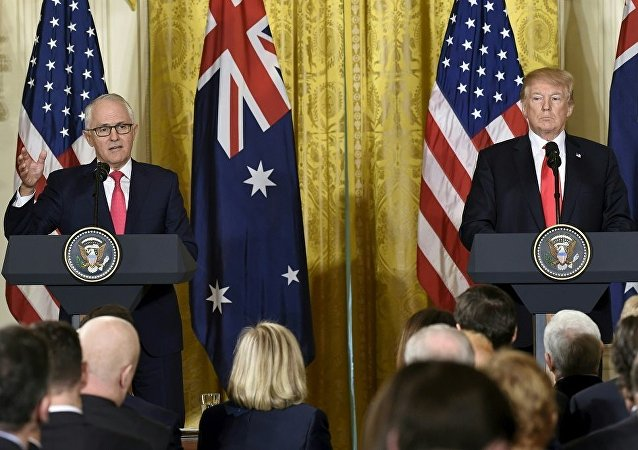 美澳領導人對南海局勢表示擔憂
