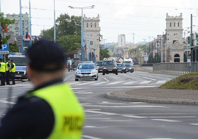 波兰警方迫不得已对闹事乌克兰和格鲁吉亚公民开枪