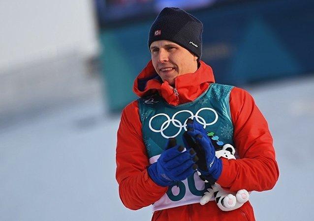 西門·赫格斯塔德·克魯格, 挪威越野滑雪運動員