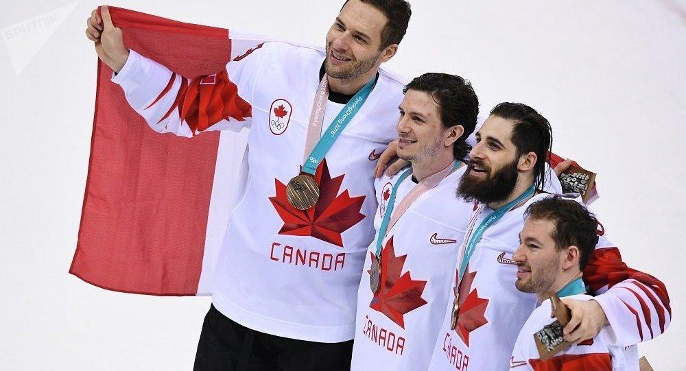 加拿大冰球国家队击败捷克队,获2018冬奥会铜牌