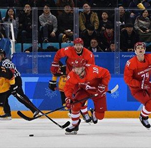 冬奧冰球男子決賽 俄奧運隊加時4-3險勝德國摘金