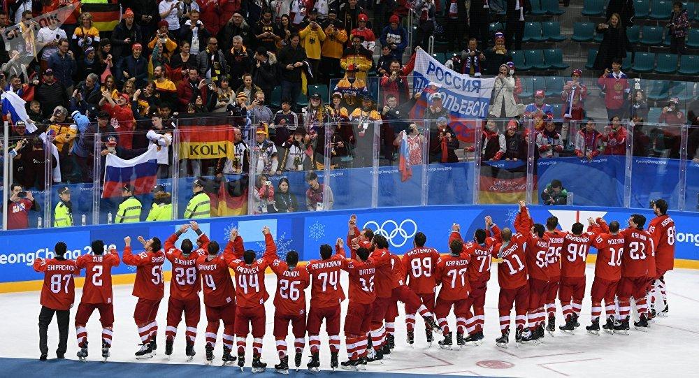 俄罗斯冰球队
