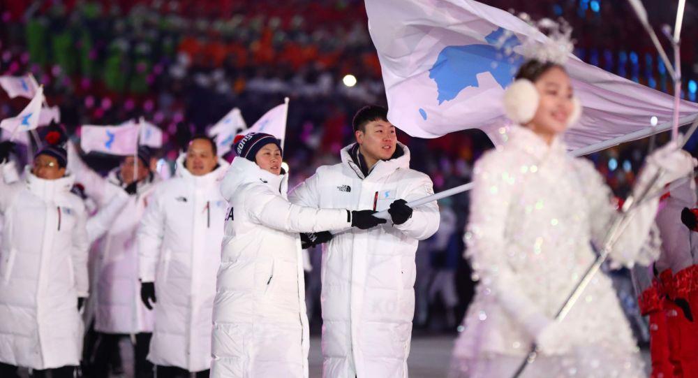 冬奥会上开幕式