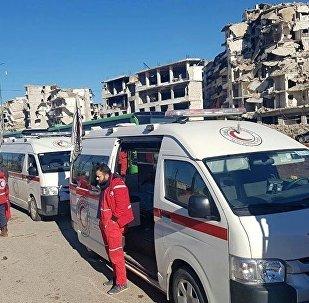 叙医务人员:73名阿勒颇居民因遭袭击接受治疗