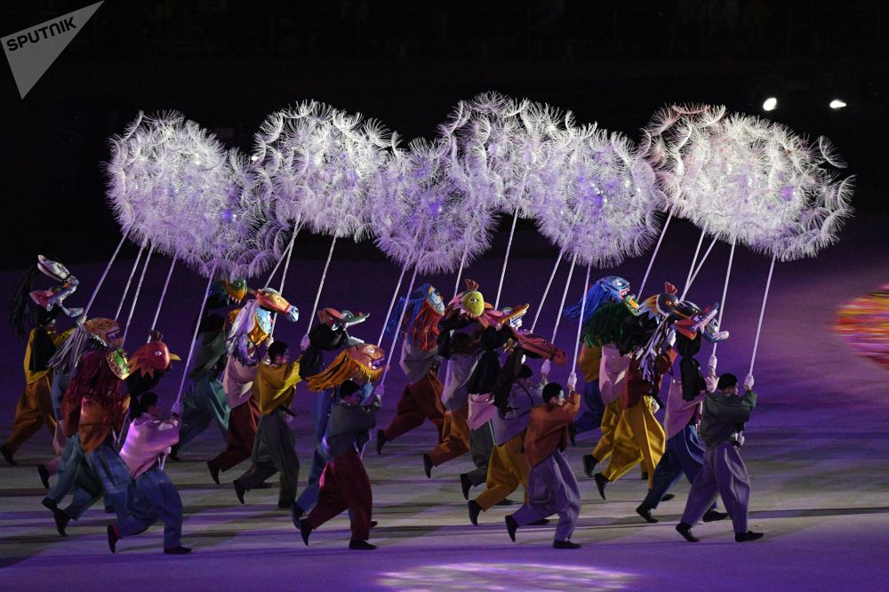 2018年平昌冬奥会闭幕式
