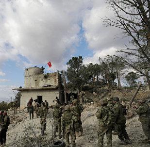 土耳其軍人在敘利亞