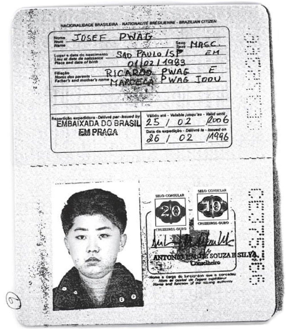 朝鮮最高領導人巴西護照曝光