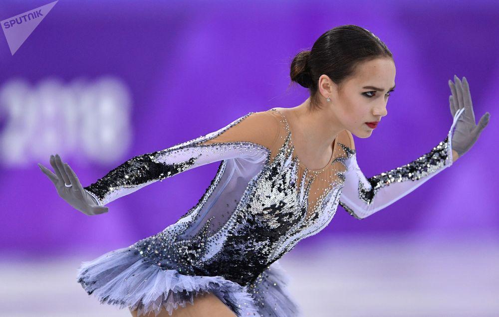 俄罗斯花滑女选手阿丽娜·扎吉托娃