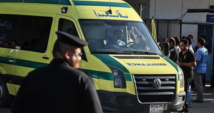 埃及首都一輛火車出軌並起火 有死傷者