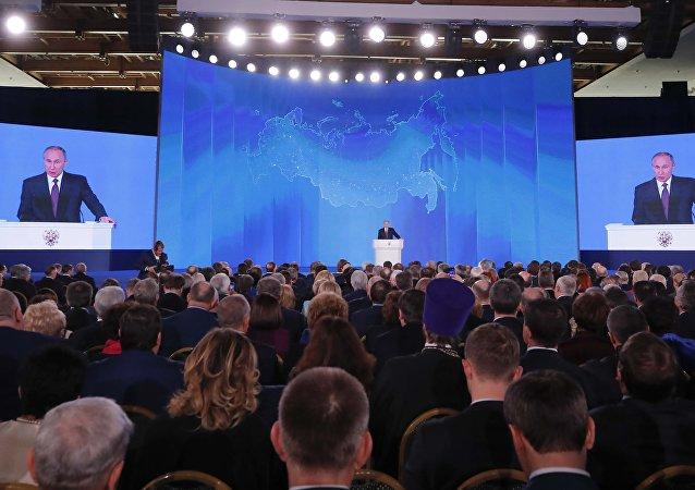 克宫:普京将于2月20日向联邦会议发表国情咨文
