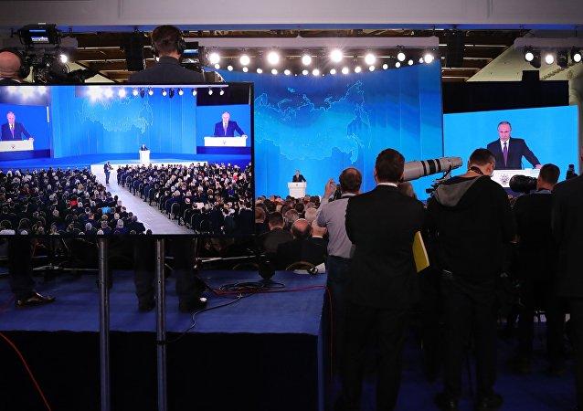 普京:美国在俄边界附近部署海基反导系统