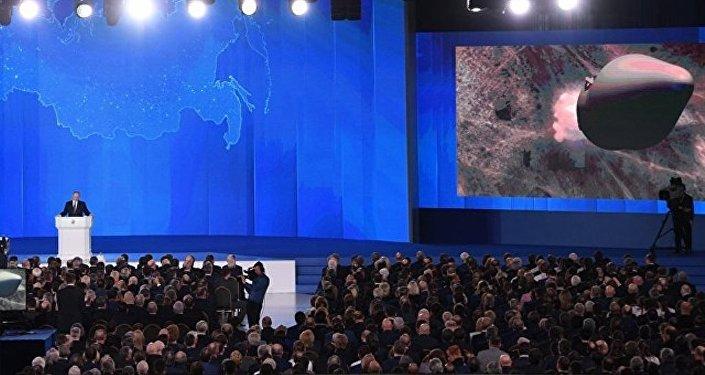 俄外交部:普京在国情咨文中介绍的武器装备并不违反中导条约