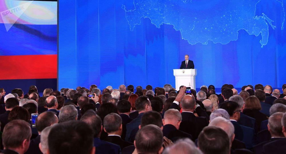 普京今年不会在克宫向联邦会议发表国情咨文