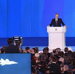 莫斯科市中心20日因普京發表國情咨文將部分封路