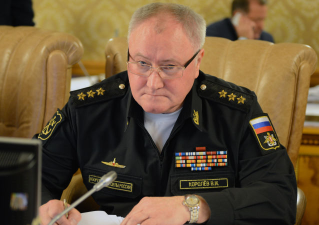 俄羅斯海軍總司令弗拉基米爾∙科羅廖