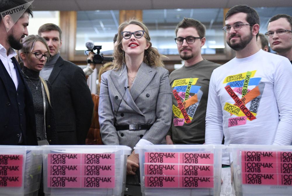 克谢尼娅·索布恰克是娱乐电视节目主持人、记者。