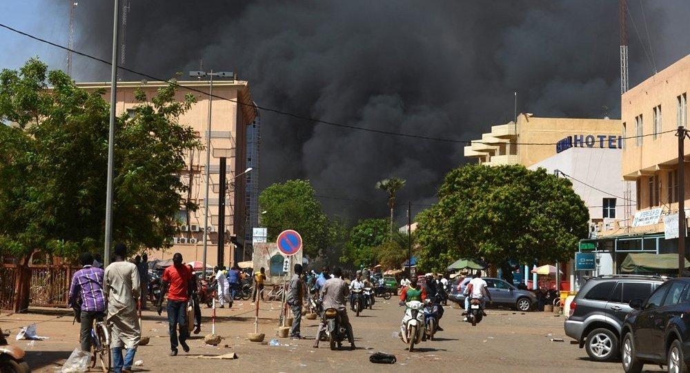 布基纳法索首都发生恐怖袭击